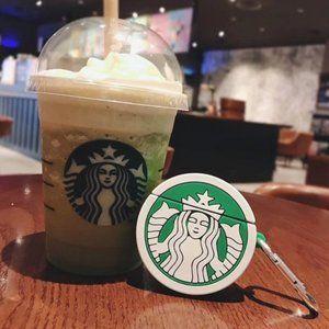 Brand New Airpods Case Cover Starbucks logo
